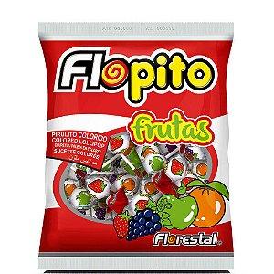 Pirulito Flopito Frutas 400g - Florestal
