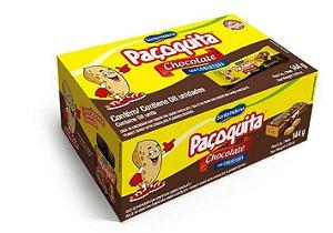 Paçoca Paçoquita Coberta de Chocolate 144g c/ 8 Un.  Santa Helena