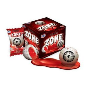 Chiclete Terror Zone Olhos 320g c/ 40 Unidades SUKEST