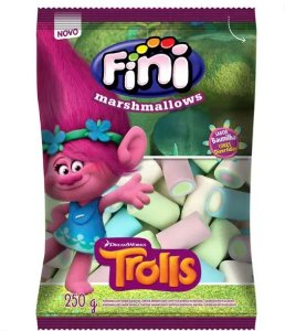 Marshmallows Trolls 250g - Fini