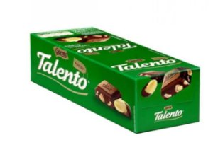 Chocolate Mini Talento Castanha do Pará 15X25g - Garoto