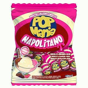 Pirulito Napolitano Pop Mania C/ 50 Un. - Riclan