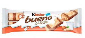 Chocolate Kinder Bueno White 43g Ferrero