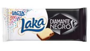Chocolate Lacta Diamante Negro Laka 90g
