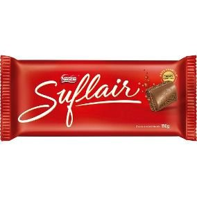 Tablete Chocolate Suflair 110g Nestlé