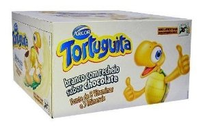 Chocolate Tortuguita Branca 18g c/24 -Arcor
