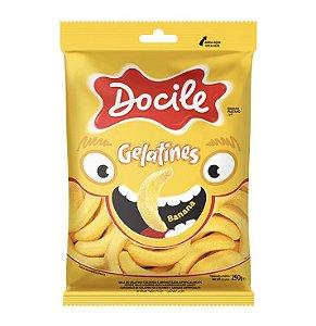 Bala de Gelatina Banana 250g - Docile