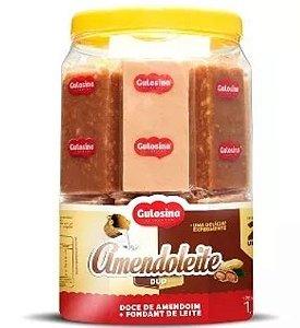 Doce Amendoleite Duo - 1,3kg Pote com 20 -Gulosina