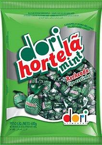 Bala de Hortelã Recheada Tipo Cestinha 600g - Dori