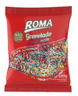 Granulado Colorido Macio 500g -  Roma