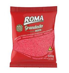 Granulado Rosa Macio 500g - Roma