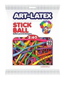 Balões para Modelagem Stick Ball 50 Un - Art Latex