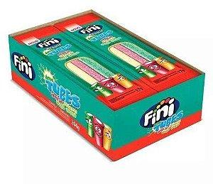 Bala Fini Tubes Regaliz c/ 12 unidades de 17g cada