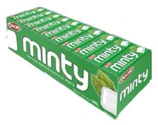 Pastilha Minty 40 x 17g - Docile