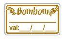 Etiqueta Adesivo Decorativo Bombom - Eticol
