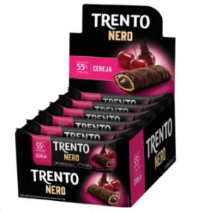 Chocolate Trento Nero Cereja c/16 - Peccin