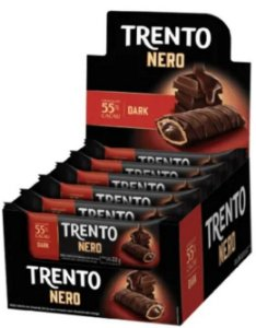 Chocolate Trento Nero Dark c/16 - Peccin