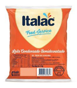 Leite Condensado Semidesnatado 2,5Kg – Italac