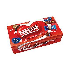 Caixa de Bombom Sortido Nestlé Especialidades 251g c/ 14 Bombons