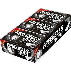 Chiclete Freegells Gum Zero Extra Forte 15 Unidades Riclan