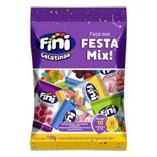 Bala de Gelatina Festa Mix 10x15g - Fini