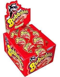 Chiclete Bubbaloo Morango C/60 - Adams