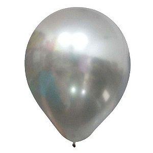 Balão Chrome Metalizada Nº 9 c/ 25 Un.