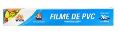 Rolo de Plástico Filme PVC 30m - Wyda