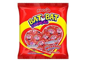 Pirulito Coração Bat Bat Mini 200g com 50 unidades -  Peccin