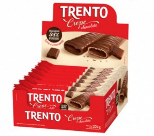 Chocolate Trento Crepe Chocolate c/16 - Peccin