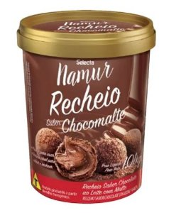 PERDA ZERO - Namur Recheio Sabor Chocomalte 1,01kg - Selecta - conferir data de validade na descrição