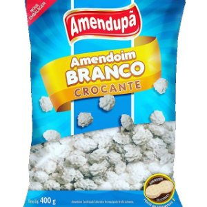 Amendoim Branco Crocante 400g - Amendupã