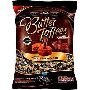 Bala Butter Toffees Chokko Chocolate Meio Amargo 600G - Arcor