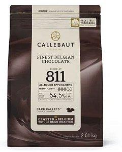 Chocolate amargo 811 ( 54,5% cacau) gotas 2,01kg - Callebaut
