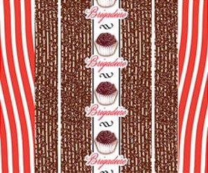 Embalagem para trufão sabor brigadeiro 20x18cm -Carber