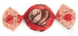 Embalagem para trufão sabor Dois Amores 20x18 cm - Carber