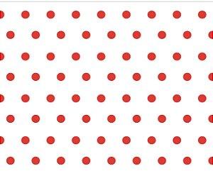 Saco celofane Bola Vermelha  c/ 50 unidades -Packpel