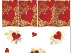 Saco celofane para Cesta Perfeito Amor 1 unidade  - Packpel