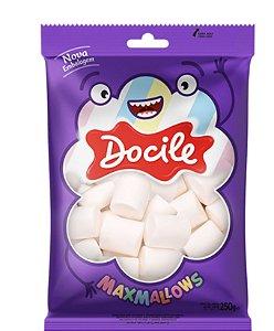 Marshmallow Tubo Baunilha 250g - Docile