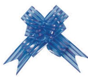 Laço fácil Organza Azul- Packpel