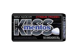 Pastilha Mentos Kiss Extra forte c/ 50 un- Perfetti