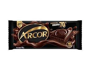 Chocolate Amargo 70%Cacau - Arcor
