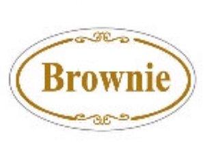 Etiqueta adesivo Decorativo Brownie- Eticol