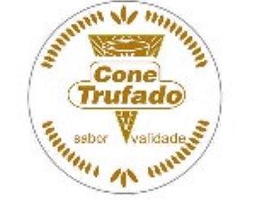 Etiqueta adesivas Decorativas Cone trufado  - Eticol