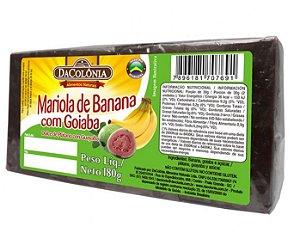 Mariola de Banana com Goiaba 180g - Dacolônia