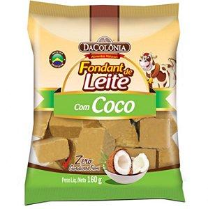 Foundant de leite com coco - Dacolônia