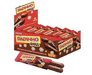 Chocolate dadinho Roll c/ 16 unidades - Dadinho