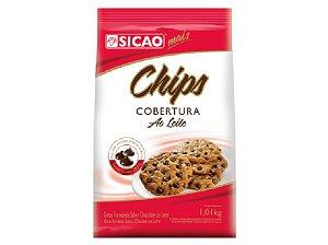 Chocolate chips cobertura ao leite 1,01kg - Sicao