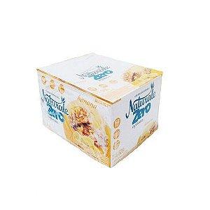 Barra de cereais zero açúcar sabor banana c/ 24 unidade de 22g - Naturale
