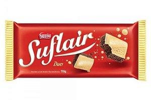 Tablete chocolate Suflair Duo 110g - Nestlê
